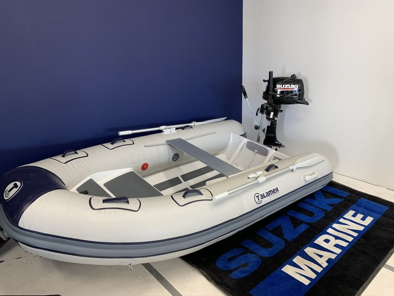 Te koop:  Talamex Silverline ALU Rib 290 - Suzuki DF6AS